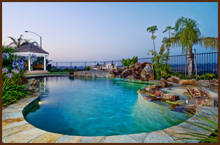 Granite bay loomis roseville pool design aquatique pools for Pool design roseville ca